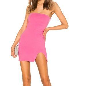 Kiera revolve superdown hot pink mini dress
